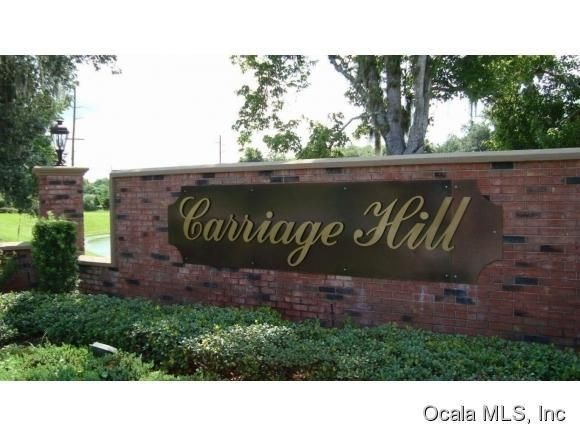 Carriage Hill Homes for Sale, buying a home in Ocala, buying a home in carriage hill ocala